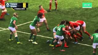 Irish Rugby TV: Ireland Women v Wales Women - Full Replay
