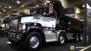 2017 Western Star 4700 SF Dump Truck - Walkaround-  2017 Expocam Montreal
