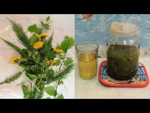 💥 Печень, почки и поджелудочная. Очищение организма после зимы самыми простыми 🍀 травами (recovery).