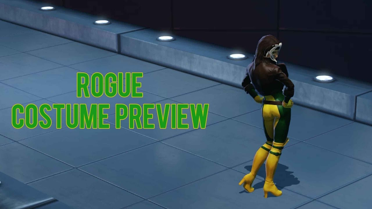 Rogue Costume Preview - Marvel Heroes Omega (PC) & Rogue Costume Preview - Marvel Heroes Omega (PC) - YouTube