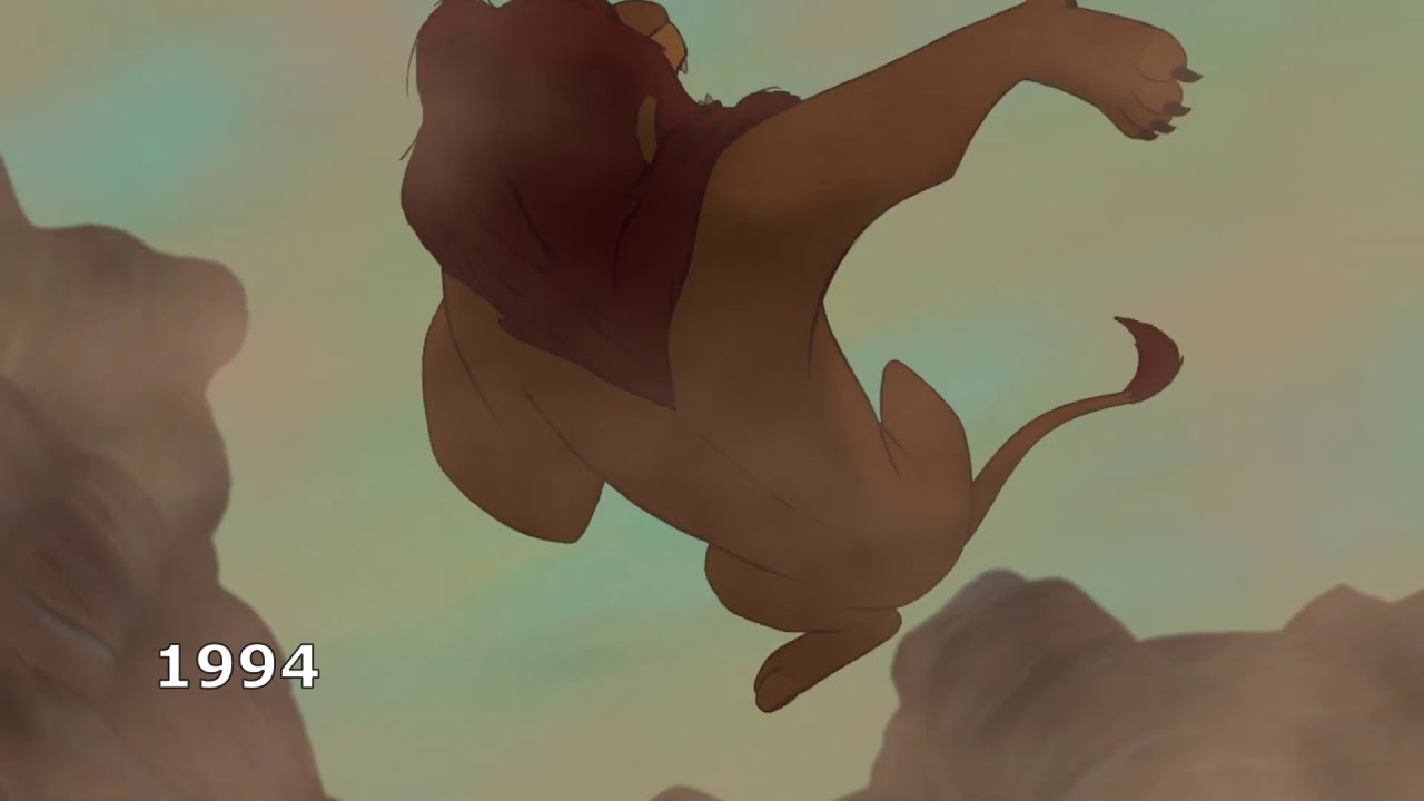 The Lion King  Long Live The King Comparison 20 and 20 ...