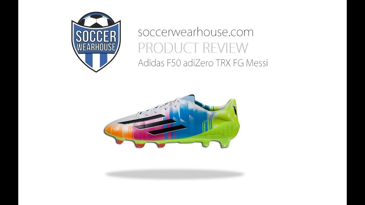 separation shoes 5c877 d9b27 PRODUCT REVIEW  Adidas F50 adiZero TRX FG Messi - World Cup - Samba