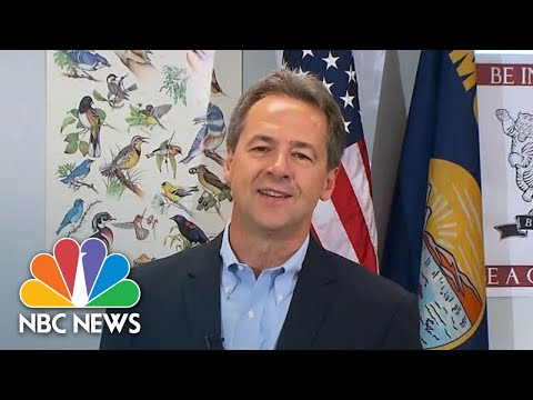 Steve Bullock: 'We're More Divided As A Country Than We've Ever Been' | NBC News