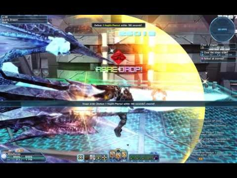Phantasy Star Online 2  Solo Training Bounds of Corruption Stage 6-10