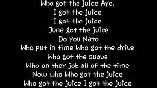 Joey Nato - The Juice Lyrics