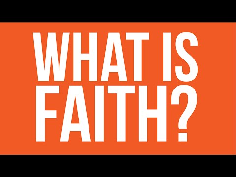 DCC Lecture Series   Bishop Robert Barron - What is Faith