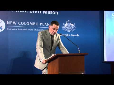 Launch ceremony of the New Colombo Plan in HK
