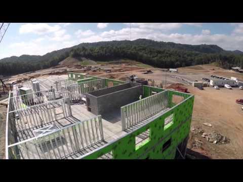 Harrah's Cherokee Valley River Casino Hotel Project Progress Video #2 25.11.14