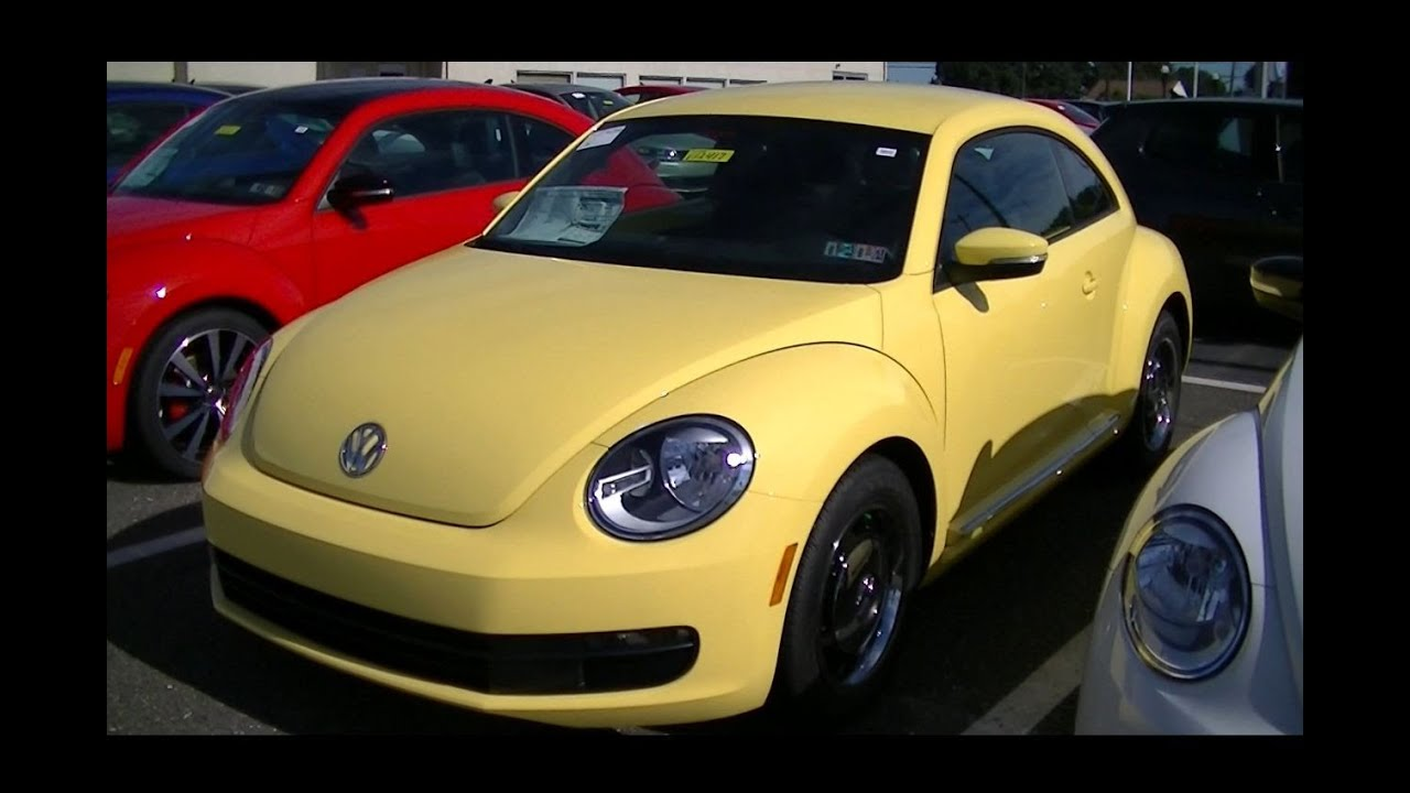yellow lemon gt volkswagen sale beetle vw