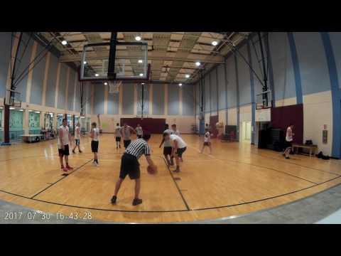 SoCo Basketball 7-30 Skyhookers (Grey) Vs SRQ Snipers (White)