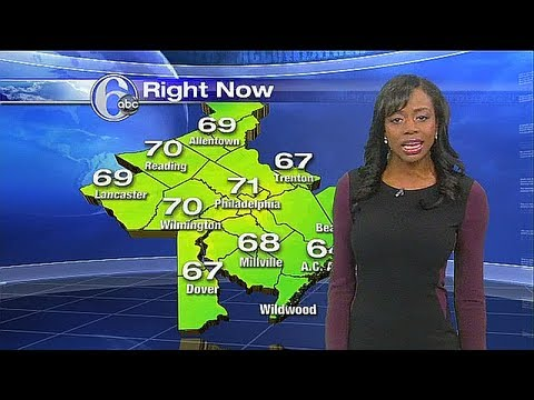 Melissa Magee and Accuweather 6abc com 2