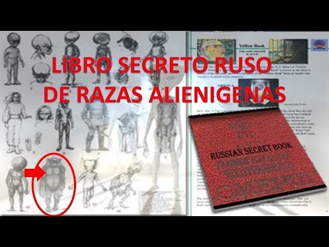 EL LIBRO SECRETO RUSO DE LAS RAZAS EXTRATERRESTRES!!