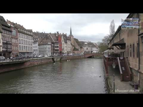 Traveling by Strasbourg Alsace France 2016