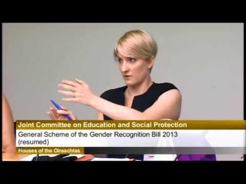 Gender Recognition Legislation Hearings: Days 1 and 2 - Senator Averil Power (FF).