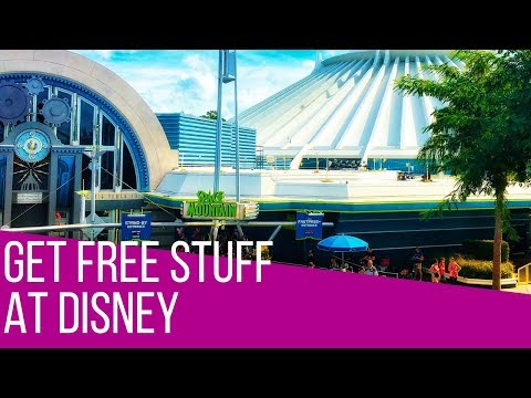 Free Stuff at Disney World (How to do Disney World for FREE - Epi 36)