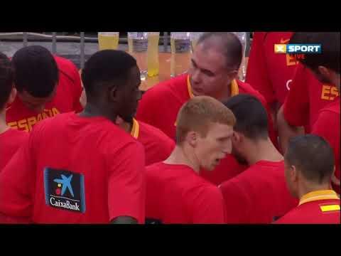 Украина-Испания Баскетбол 14.09.2018