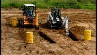 1CX vs Skidsteer loader