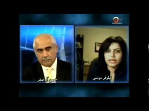 Niloufar Momeni Andisheh TV Finish Line Sport Program March 3, 2013