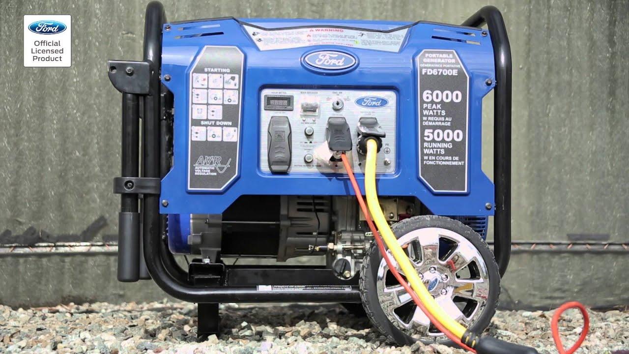 Ford Diesel Generator FD6700E U shape