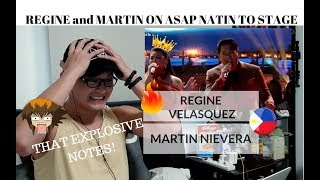 [REACTION] THOSE EXPLOSIVE NOTES! REGINE and MARTIN ASAP Natin To Performance MP3