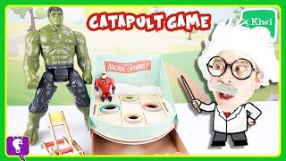 Who's More INCREDIBLE, Hulk or Mr. Incredible? Science Arcade with HobbyHarry on HobbyKidsTV!