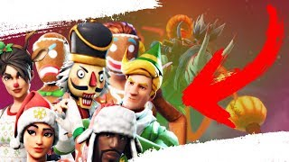 THE STATUS ON THE OG CHRISTMAS SKINS (Fortnite Battle Royale)