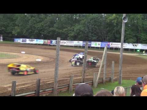 Roy Bruce Jr Heat Race Lincoln Park Speedway 7.2.16