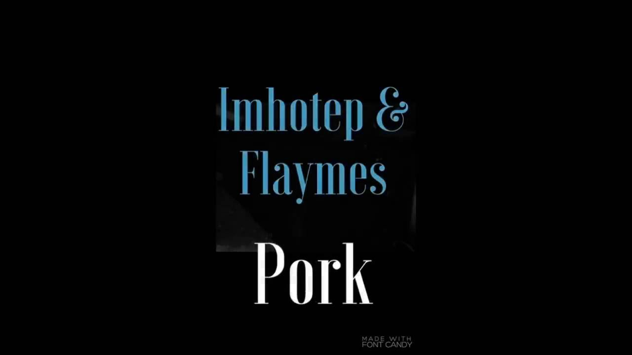 Imhotep and Flaymes - Pork [Fall on Me Wood] (Grenada Soca 2016)