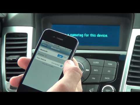 Pairing Bluetooth , 2012 Chevy Cruze