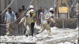 أخبار عربية | مقتل سبعة من عناصر الدفاع المدني إثر هجوم مجهولون شرقي #إدلب