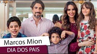 Marcos Mion envia uma linda mensagem para o dia dos pais