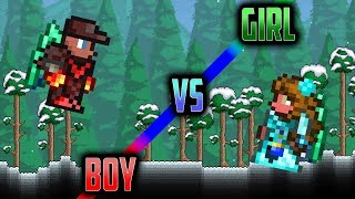 Terraria Boy VS Girl