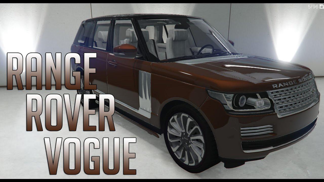 GTA V Range Rover Vogue 2013 MOD