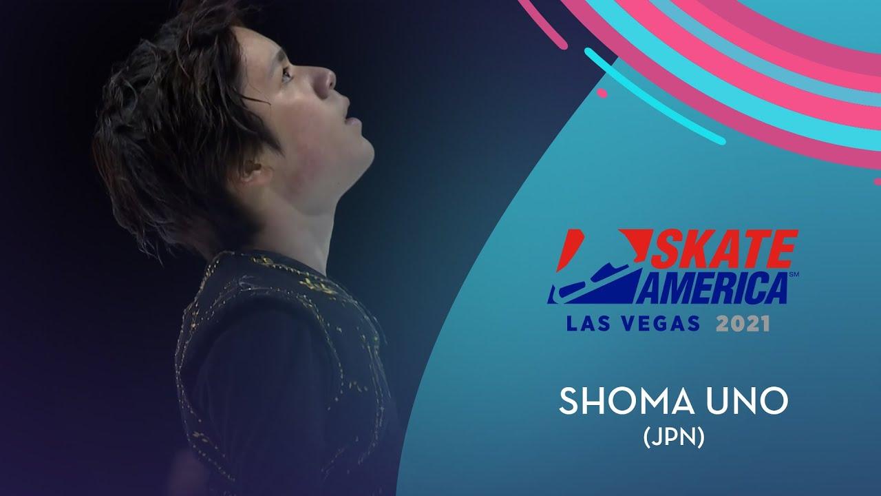 Shoma Uno JPN  Men FS  Guaranteed Rate Skate America 2021  GPFigure