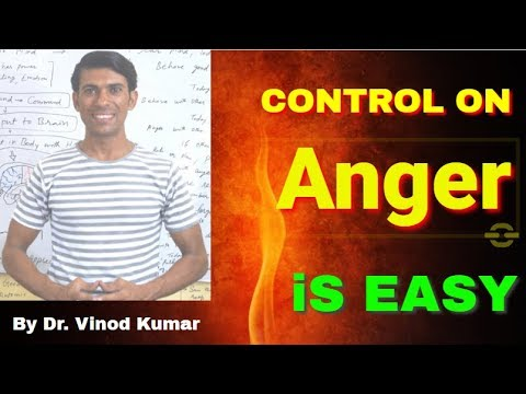 How to Control Anger - By Dr. Vinod Kumar   Hindi