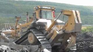 Repeat youtube video Caterpillar D11R Working with Fiat-Allis FD-50