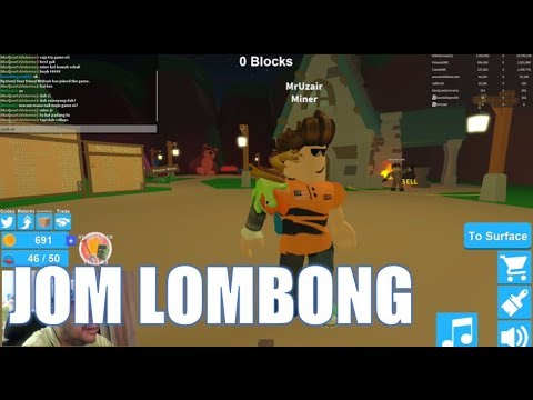 Jom Roblox | Mining Simulator Gameplay | QU Malaysia
