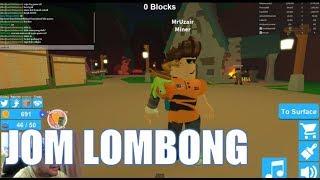 Jom Roblox-| Simulador de mineração gameplay | QU Malásia