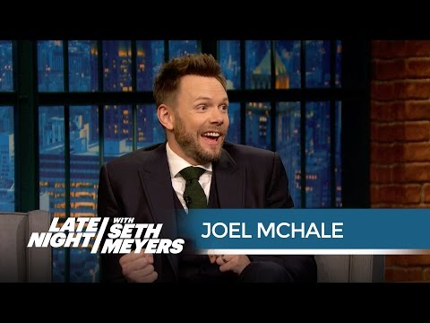 Watch Joel McHale Joke About Abandoning His Kids to Play Halo 5