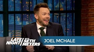 Joel McHale Might Abandon His Kids for Halo 5: Guardians - Late Night with Seth Meyers