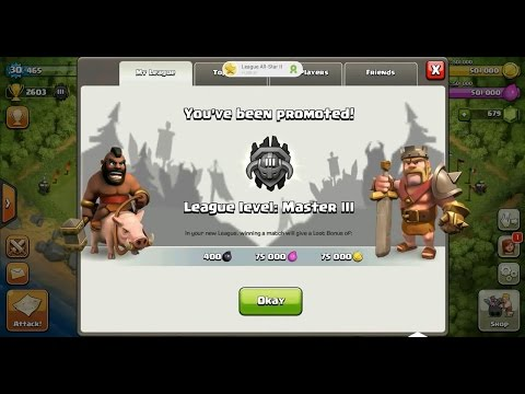 Clash of Clans Town Hall 4 (TH4) Master League III