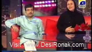 Mehnaz begum at The Sahir Show Part-2