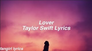 Gambar cover Lover || Taylor Swift Lyrics