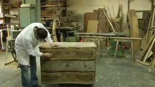 Restauration einer Barock-Kommode