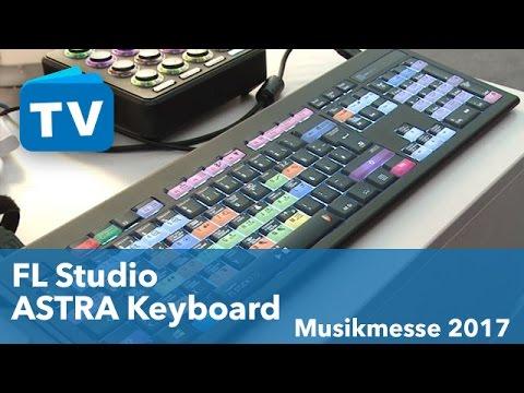 Astra Keyboard Für FL Studio - Musikmesse 2017