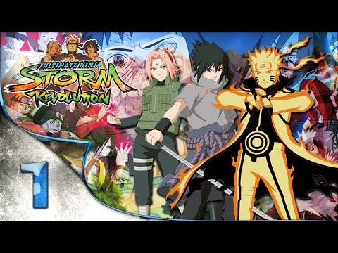 Naruto Shippuden: Ultimate Ninja Storm Revolution - A Historia da Akatsuki - 1080pᴴᴰ Parte 1
