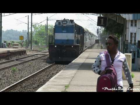 Super Aggressive HWH WDM3D In Angry Mood With SC - Guwahati Superfast Express : INDIAN RAILWAYS