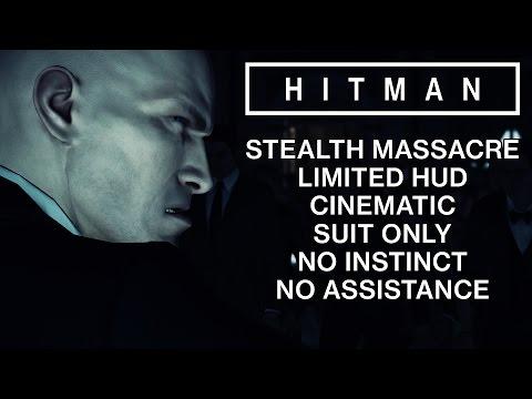HITMAN 2016 | Paris #1 (STEALTH KILLS, CINEMATIC, SUIT ONLY, NO HUD W/ JESPER KYD)