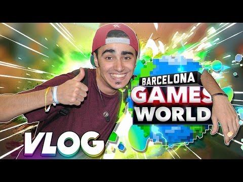 EPIC VLOG BARCELONA GAMES WORLD 2016   Conociendo amigos