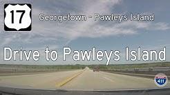US Highway 17 - Georgetown - Pawleys Island - South Carolina | Drive America's Highways 🚙